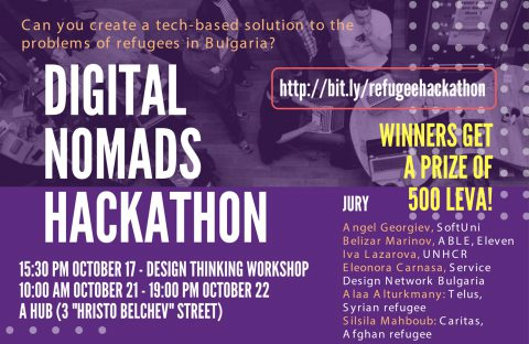 Digital Nomads Hackathon – Refugee Month