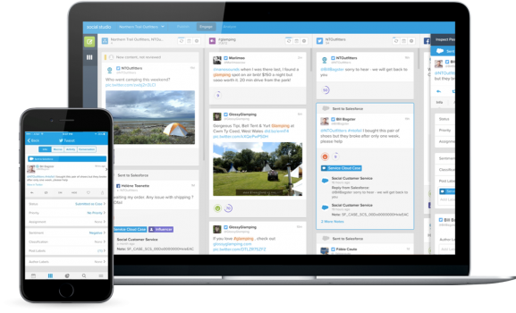 Salesforce SOCIAL STUDIO INTERFACE