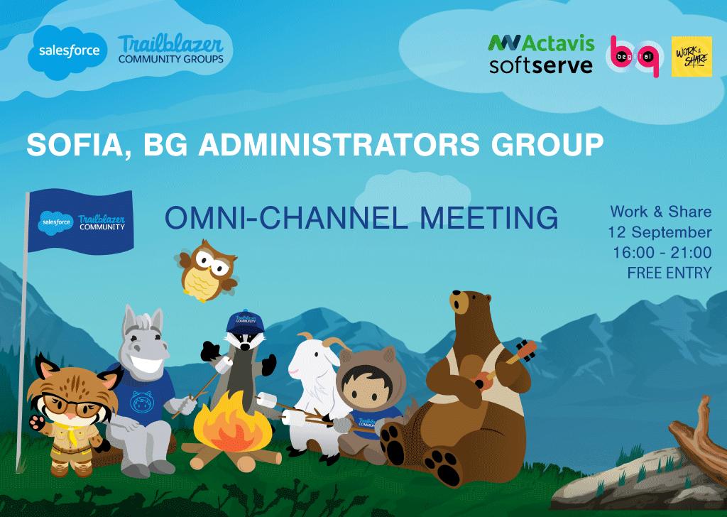 Sofia Salesforce Administrators Group 1st gathering