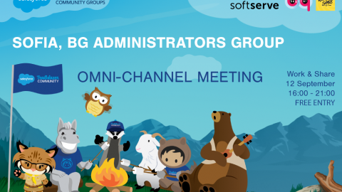 Salesforce Event in Sofia – 12.09.2018