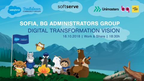 Salesforce Sofia User Group – Digital Transformation Vision – 18.10.2018